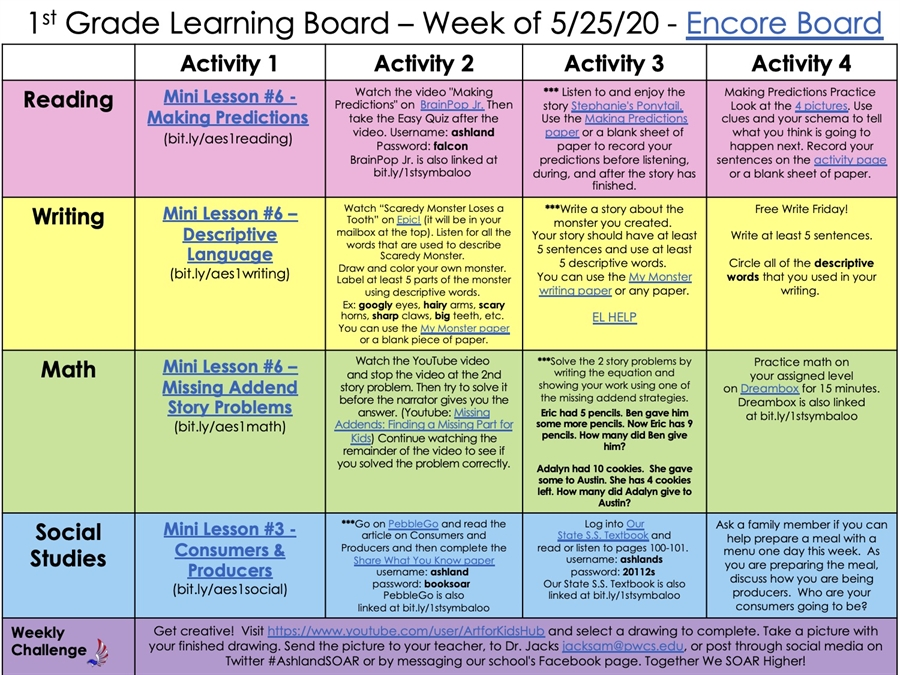 Ashland Learning Board - 5.25.20 - 1st Grade.pdf